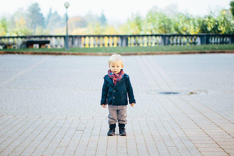 Fotografo bambini alba