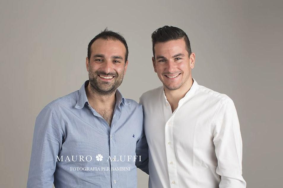 Simone Padoin e Mauro Aluffi