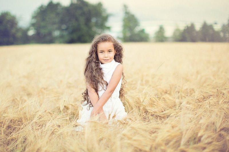 Fotografo di bambini - Shooting al tramonto. Che non c'è.