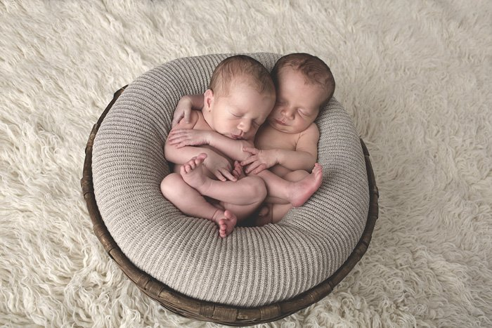 Famoso Fotografo bambini Asti - Foto gemelli neonati - Mauro Aluffi  KI49
