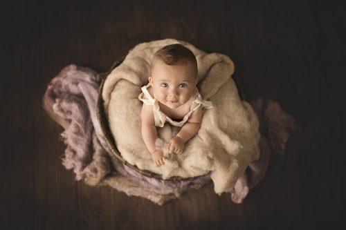 Servizio fotografico bebè in studio